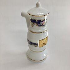 Reutter Porcelain Miniature Dollhouse Blue Royal Porcelain Victorian Stove