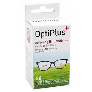 Anti Fog Wipes for Glasses (Also Work on AR coated Lenses) 30 / 60 or 100 Packs