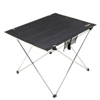 Large Portable Folding Camping Table Picnic Barbecue Outdoor BBQ Garden Desk !