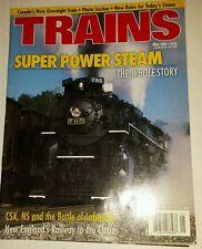 Trains Magazine May 2000