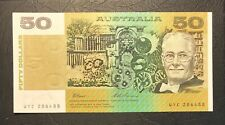 1993 Fraser/Evans $50 aUNC (R515) - S/N: WYC286488
