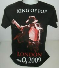 Michael Jackson T Shirt 2009 M MEDIUM S SMALL O2 LONDON TOUR CONCERT