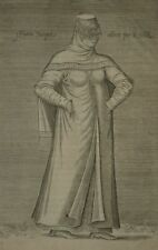 Turquie Costume Femme Turque Ottoman Chalcondyle Nicolas Nicolay Gravure 17e