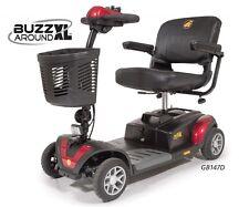 Golden Technologies GB147 Buzzaround XL 4 Wheel Mobility Scooter Portable Travel