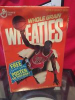 1989 Unopened Wheaties Box Michael Jordan Rare Factory Sealed