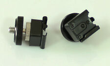 2pcs 1/4-20 threaded to Universal HotShoe Mount adapter fr camera flash  tripod