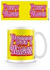 Kill Bill Pussy Wagon Quentin Tarantino Kaffee Becher Coffee Mug Tasse Gelb