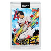 Topps PROJECT 2020 Card 399 - Mike Trout by King Saladeen - PRESALE!