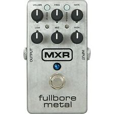 MXR M116 Fullbore Metal Distortion Electric Guitar Effect Pedal - Brand New!