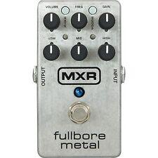 MXR M116 FULLBORE METAL distorsion pédale effet guitare électrique-NEUF!