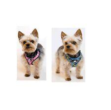 Designer Soft Harness for Dog - 2 colors - 3 sizes - breathable mesh