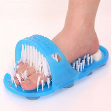 New Foot Gift Shower Feet Cleaner Scrubber Bath Brush Bristle Massager JL