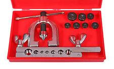 10 tlg. Doppel Bördel Satz Klempner Werkzeug bördeln Bördelgerät Bördelwerkzeug