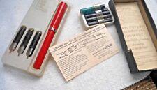 Vintage No Nonsense Fountain Pen Set See Pics