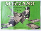 Vintage Meccano Instructions For Accessory Outfit Kit No. 2A (18 pgs)