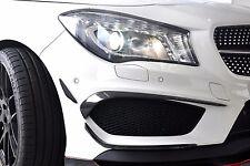 Carbon Splitter Stoßstange Lippe Spoiler Canards passend für Mercedes CLA W117
