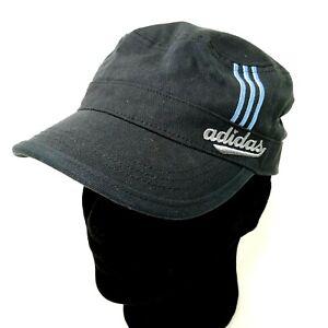 Adidas Black Hat Climalite Military Cadet Newsboy Cap Adjustable