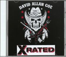 David Allan Coe Underground All 20 X Rated Hits CD allen NEW