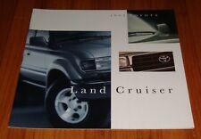 Original 1995 Toyota Land Cruiser Deluxe Sales Brochure