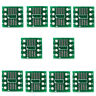 50 Pcs/pack SOP8 SSOP8 TSSOP8 SMD To DIP8 Adapter 065/127mm F3H1 Board_T G5C9