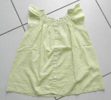 Blouse tunique chemisier fille 7 – 8 ans marque H&M couleur anis100% coton