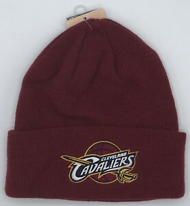 NWT NBA Cleveland Cavaliers Adidas Cuffed Winter Knit Cap Hat Style #K589Z NEW