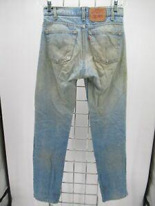 P8202 VTG Levi's Men's Regular Fit Zip Fly Denim Jeans Made in USA Size 30/34