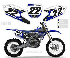YAMAHA MOTOCROSS BACKGROUNDS NUMBER BOARDS MX GRAPHICS YZ YZF 65 85 125 250 450