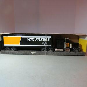 "Ertl Peterbilt Semi & Trailer ""WIX Filters Dana"" Made USA 1/25 WIX-3148-10DO-B"