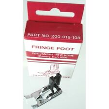 Janome Fringe Foot for Memory Craft 8000