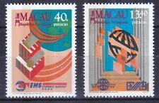 Macau 1988 postfrisch MiNr. 606-607  Weltposttag: Postdienste