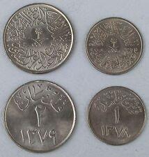 Saudi-Arabien / Saudi Arabia 1 + 2 Ghirsh 1958-1959 unz.