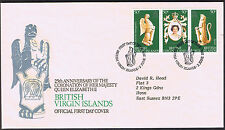 British Virgin Islands 25th Anniversary Coronation 1978 First Day Cover Stamps