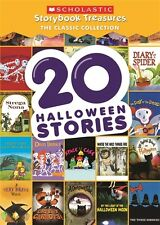 20 HALLOWEEN STORIES SCHOLASTIC STORYBOOK TREASURES CLASSIC COLLECTION New DVD