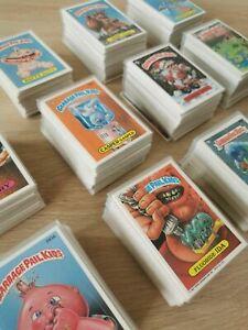 Topps Garbage Pail Kids Single USA Cards 1986