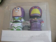 Disney Buzz Lightyear and Evil Zurg Glow in the Dark Tin Toys LE 1500 Toy Story