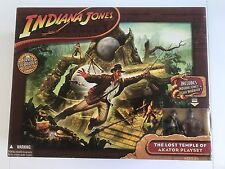 Indiana Jones - Lost Temple of Akator Playset - Complete & Boxed - Hasbro 2008