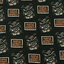 WWE Hustle Loyalty Respect Bulldog Logo Flat TWIN Sheet