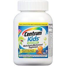 Centrum Kids Chewables Multivitamin/Multimineral Supplement 80 Tablets