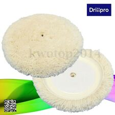 8 Inch Wool Buffing Pad Detailing Polishing Polisher Buffer Pad For Car Polisher