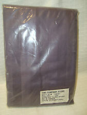 The Company Store Purple Sateen Striped Standard Pillow Sham #49913 NEW