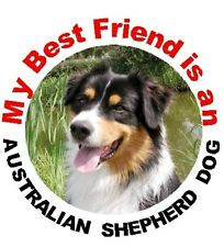 2 Australian Shepherd Dog Car Stickers By Starprint - Automatic combined postage