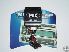 PAC LD-10 12 Volt 2 Channel Car Stereo RCA Audio Bass Line Driver Signal Booster