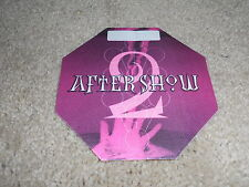 MADONNA Drowned World 2001 Backstage Pass Concert Tour AFTER SHOW Material Girl