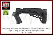ATI MOSS/REM/SAV/WIN/FNH/TRI 12GA T3 ADJ TACTLITE SHOTGUN STOCK - B.1.10.2007