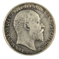 Edward VII 1910 Sixpence Near Extremely Fine