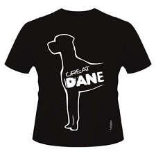 Great Dane Dog Breed T-Shirts Round-Neck Style Dogeria Design Women's & Men's