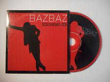 BAZBAZ : SOUVIENS TOI ♦ CD SINGLE PORT GRATUIT ♦