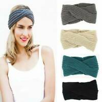 Knitted Headband Headwrap Ear Warmer Hairband Muffs Band Winter Ladies Women