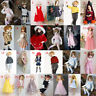 Various Cute/Fashion Doll Dress Clothing Outfit for 1/3 1/4 1/6 BJD SD AS DZ MSD